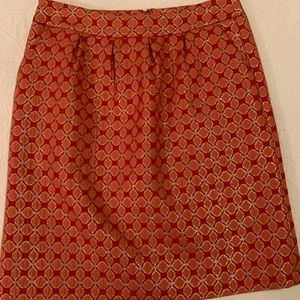 New Nordstrom Halogen Coral Skirt size 6